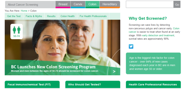 B C Cancer Agency Colon Cancer Program This Changed My Practice